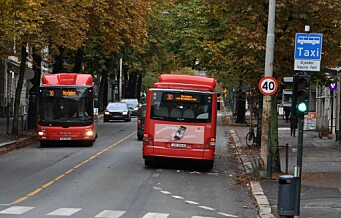 Venstre-politiker vil delvis stenge Bygdøy allé for biler. Politisk enighet om at buss må prioriteres