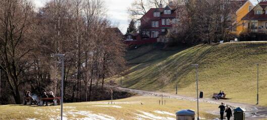 Myraløkka kan bli en stor søppelkasse dersom kommunen skal spare penger på 73 parker