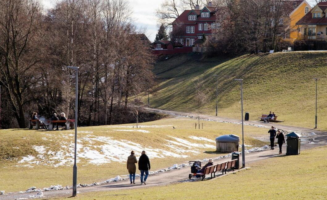 Populære Myraløkka på Sagene kan bli en stor søppelkasse om kommunens innsparingsplaner blir en realitet. Foto: Audun Braastad / NTB scanpix