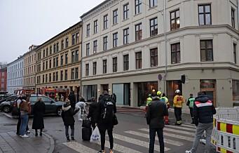 Brann i eldre bygård i Thorvald Meyers gate på Grünerløkka
