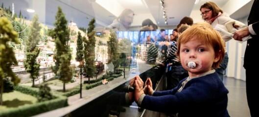 Ny modelljernbane åpnet på Teknisk museum. 34 år etter at den forrige banen ble skrotet