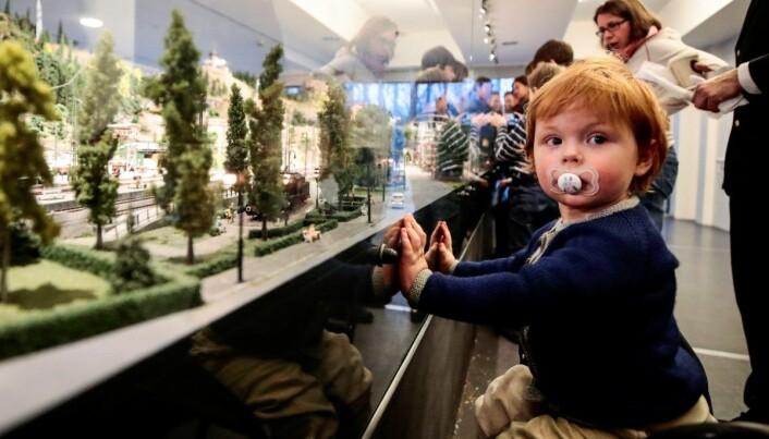 Teknisk museum har blant annet en stor og innholdsrik modelljernbane.
