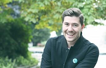 Grunde Kreken Almeland er valgt til ny leder av Oslo Venstre