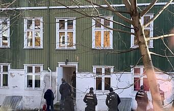 De unge boligokkupantene kastes ut av Tromsøgata 8 på Rodeløkka