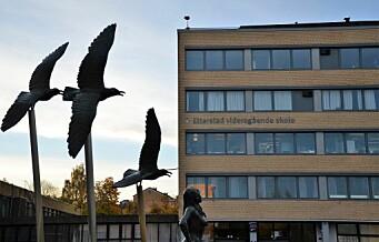 Elev (17) ved Etterstad videregående stormet inn i klasserom og slo så hardt at lærerens tenner løsnet