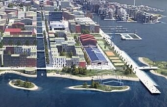 Arkitekter vil ha lavere bygninger på Filipstad. Mener byrådets plan er for dårlig og utgått på dato