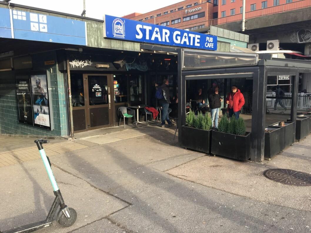Om juristene i næringsetaten får det som de vil, kan Stargate på Grønland igjen miste skjenkebevillingen. Saken er nå til behandling i Helse- og omsorgsdepartementet. Foto: Vegard Velle