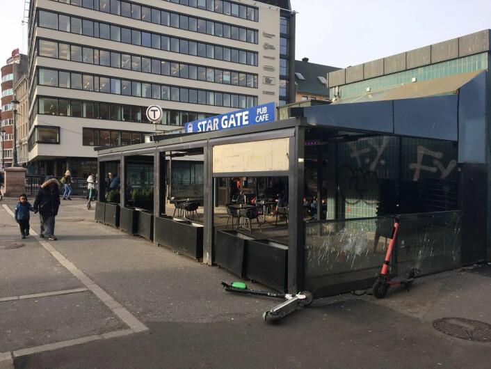 Stargate preges av slitasje, men på den andre siden av gaten, skal Olafiagangen rustes opp. Foto: Vegard Velle