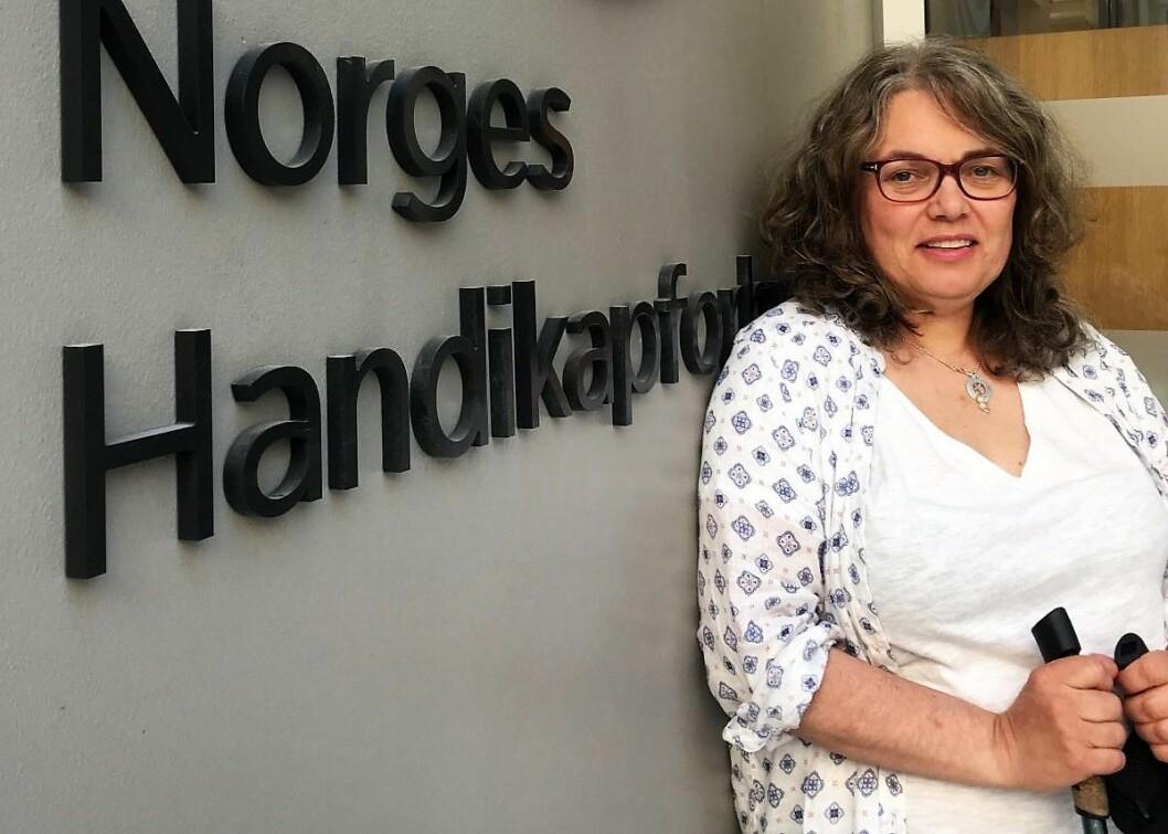 I morgen aksjonerer Handikapforbundet for at handikappede skal ha den samme friheten til å leve sine liv som andre. Foto: Norges Handikapforbund