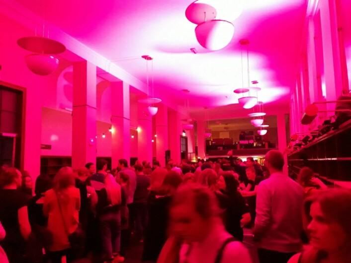 Det var full fest da Deichmann hadde avslutning 18. januar. Foto: Emilie Pascale
