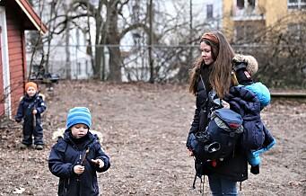 Geitmyrsveien barnepark på St. Hanshaugen okkuperes av hundeeiere som slipper hundene løs