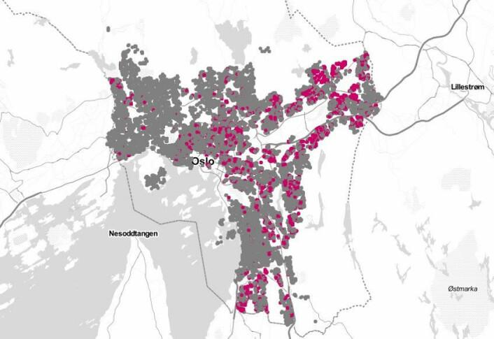 I perioden 2003-2007 hadde single førstegangskjøpere mellom 25–34 år råd til 36 prosent av Oslo-boligene som ble solgt.