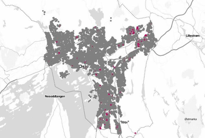 I perioden 2015-2019 hadde single førstegangskjøpere mellom 25–34 år kun råd til 5,9 prosent av Oslo-boligene som ble solgt.
