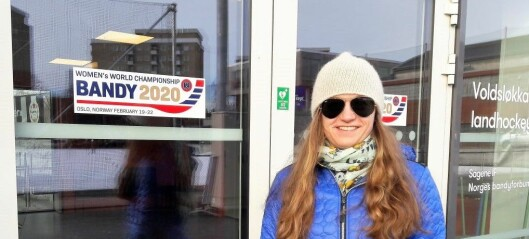 Mathilde Hveding Langmo, fra Sagene IF, er Norges siste skanse i bandy-VM