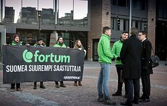 – Fortum selger seg inn som miljøvennlige i Oslo. Da henger det ikke på greip å bli eier i et av verdens største kullselskaper