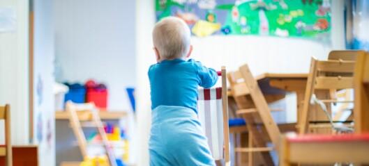 Siste frist for å søke barnehageplass 1. mars
