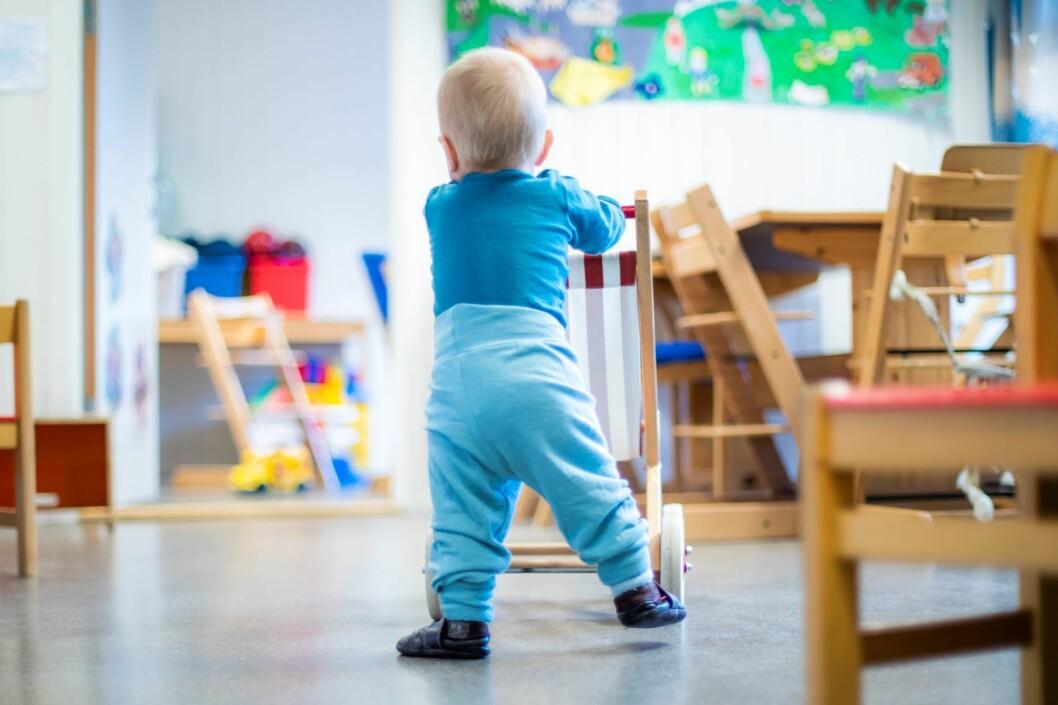 Den 1. mars er det frist for å søke om opptak til barnehage. Foto: Håkon Mosvold Larsen / NTB scanpix