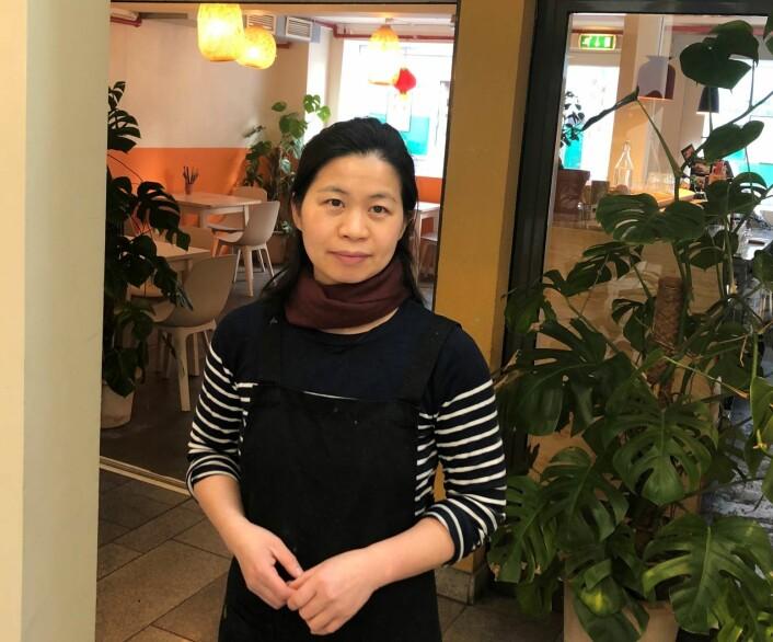 – Det var ikke før jeg selv fødte en datter i Norge at jeg forsto at det å få barn i Norge er mye mindre kostbart enn det var for mine venner i Kina, forteller Cuiming Pang. Foto: Privat