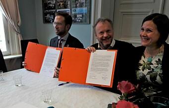 Byrådet og regjeringen enige om satsing på Grønland og Tøyen