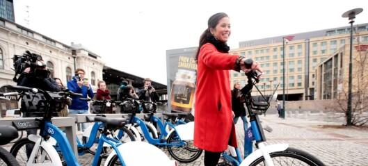 Oslo suser frem som sykkelhovedstad. Internasjonalt tilrettelegges det for sykkel som aldri før