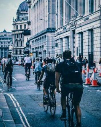 London var en by med få syklister i bybildet. Dette har endret seg drastisk, men fremdeles gjenstår en jobb for å nå ut til flere. Foto: Krautgortna / Pexels