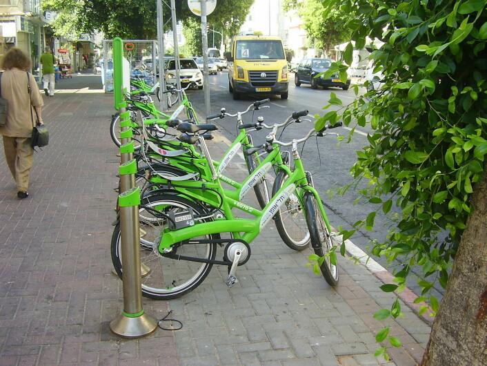 Tel Aviv har blitt en sykkelby. Foto: Dr. Avishai Teicher Pikiwiki Israel, Wikimedia Commons