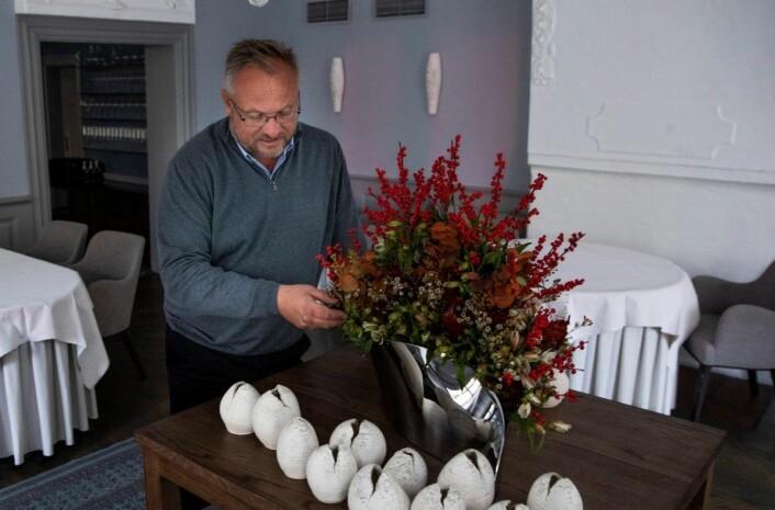 Bent Stiansen og Statholdergaarden fikk sin Michelin-stjerne første gang for 22 år siden. Kokkeveteranen åpnet Statholdergaarden i 1994. Foto: Tore Meek / NTB scanpix
