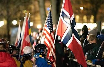 Bandy-VM 2020 åpnet med oppvisningskamp og innmarsj på Narvisen i Spikersuppa