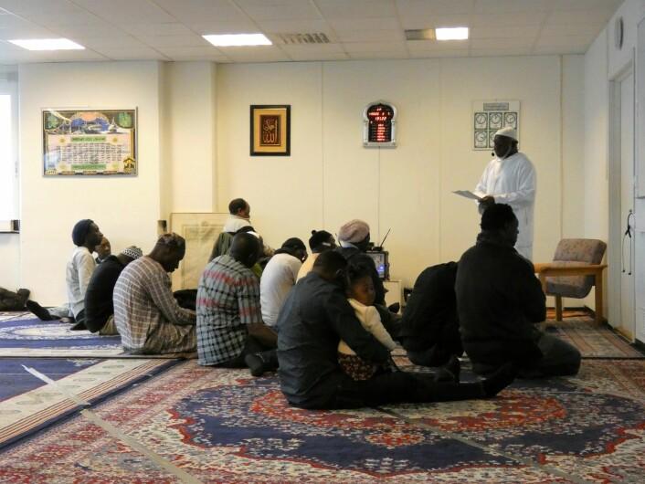 Daru Salaam Islamic Center, eller Fredens hus, som daru salaam betyr, er stedet hvor Imam Saidy forretter. Foto: Márcia Vagos
