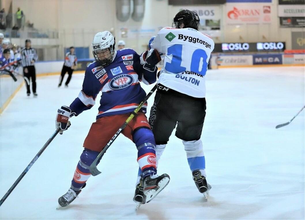 Vålerenga var litt på hæla en periode, men halte det iland til slutt. Foto: André Kjernsli.
