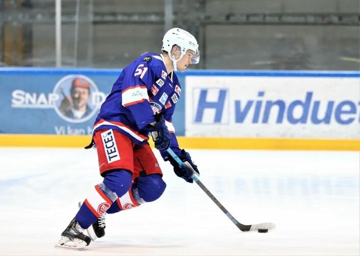 Lars Jinghage hadde en bra debut for Vålerenga i kveld. Foto: André Kjernsli