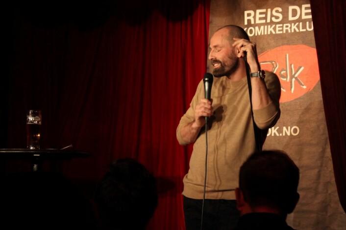 Jonas Bergland, lege og komiker. Foto: Tone Brandal
