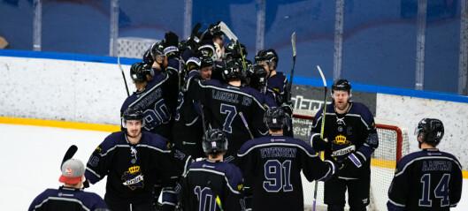 Grüner ishockey slo sensasjonelt seriemester Oilers. Se bildene