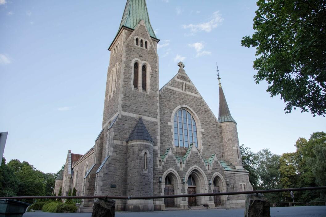 Fagerborg kirke planlegger solcellepanel. Foto: Audun Braastad / NTB scanpix