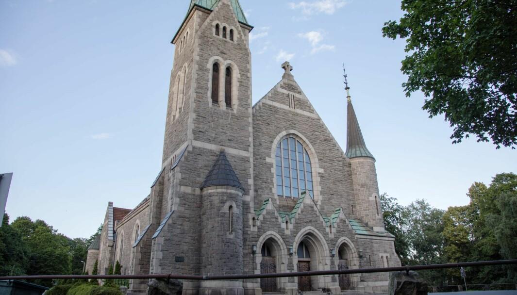 Fagerborg kirke er koronastengt. Muligheten for å strømme gudstjenester er fortsatt til stede.
