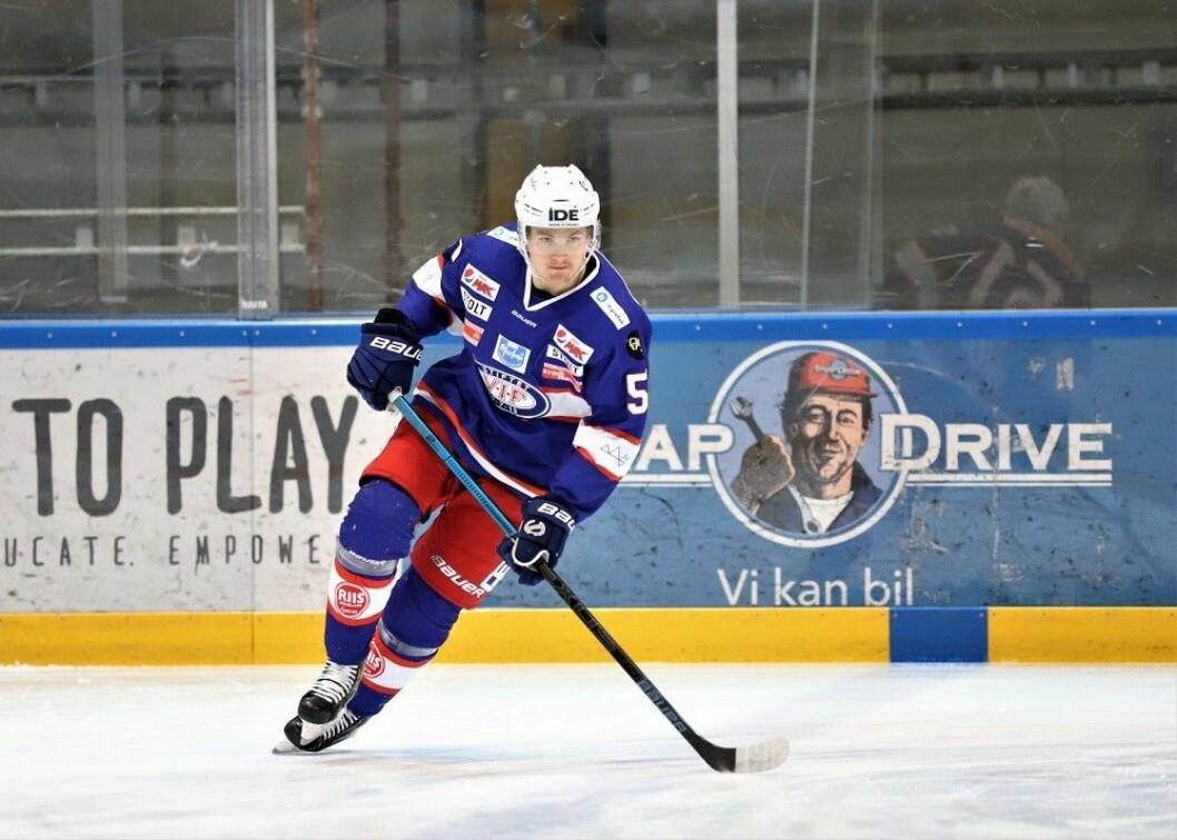 Backen Nils Lars Olof Jinghage kommer fra Leksand i Sverige og skal styrke Vålerenga bakover i sluttspillet. Foto: André Kjernsli