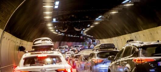 Store trafikkproblemer i Oslo sentrum. Operatunnelen stengt i begge retninger