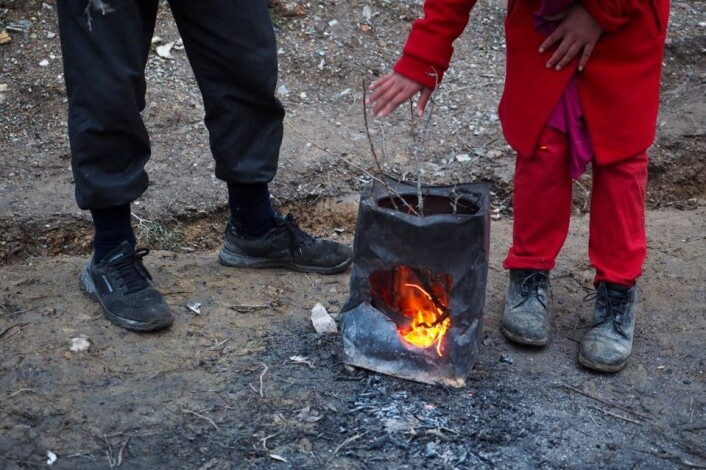 FN rapporterer om uverdige forhold i den overfylte leiren for flyktninger på den greske øya Lesvos. Foto: Knut Bry / Tinagent