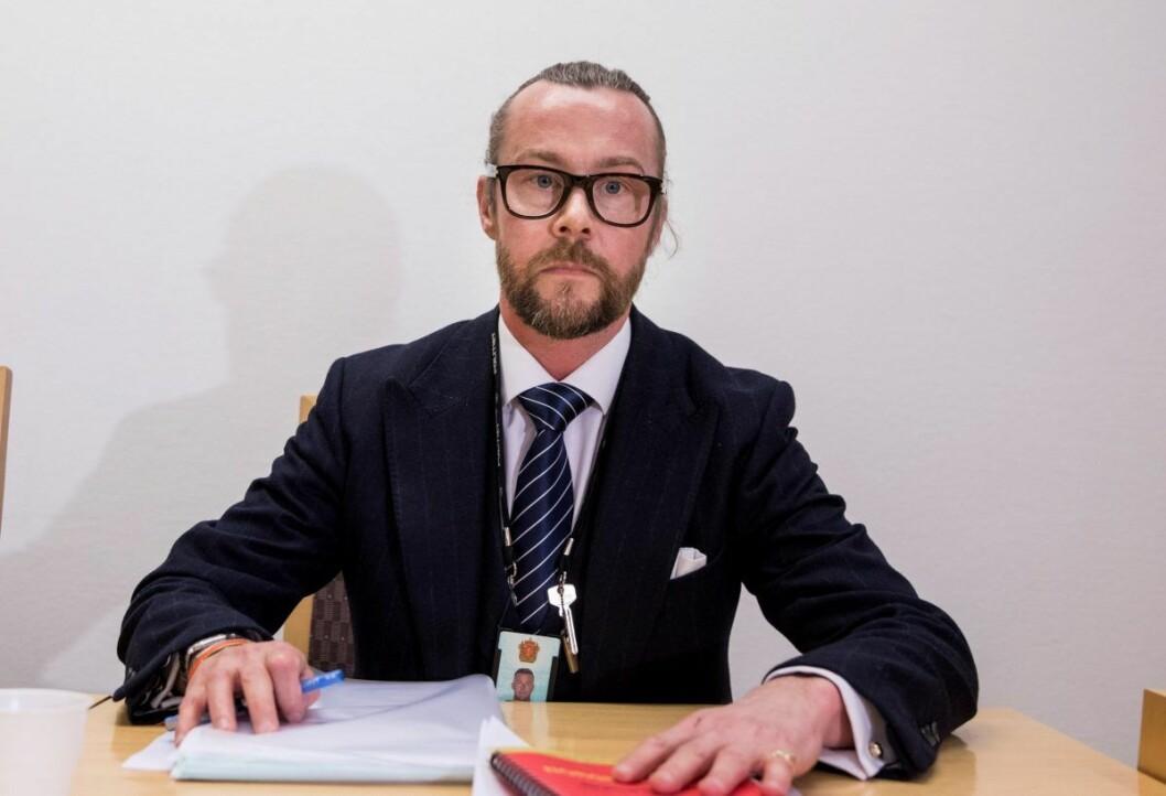 Andreas Meeg-Bentzen har fortid som lokalpolitiker for Høyre før han meldte overgang til Frp. Foto: Tore Meek / NTB scanpix