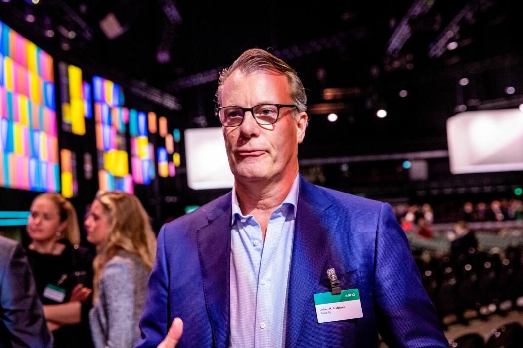 Johan H. Andresen vil utvikle en ny bydel der NRK til nå har hatt sitt hovedkvarter. Foto: Stian Lysberg Solum / NTB scanpix