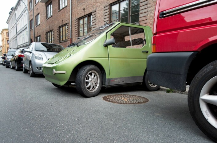 Nå må også elbiler betaler på offentlige parkeringsplasser i byen. Foto: Gorm Kallestad / NTB scanpix
