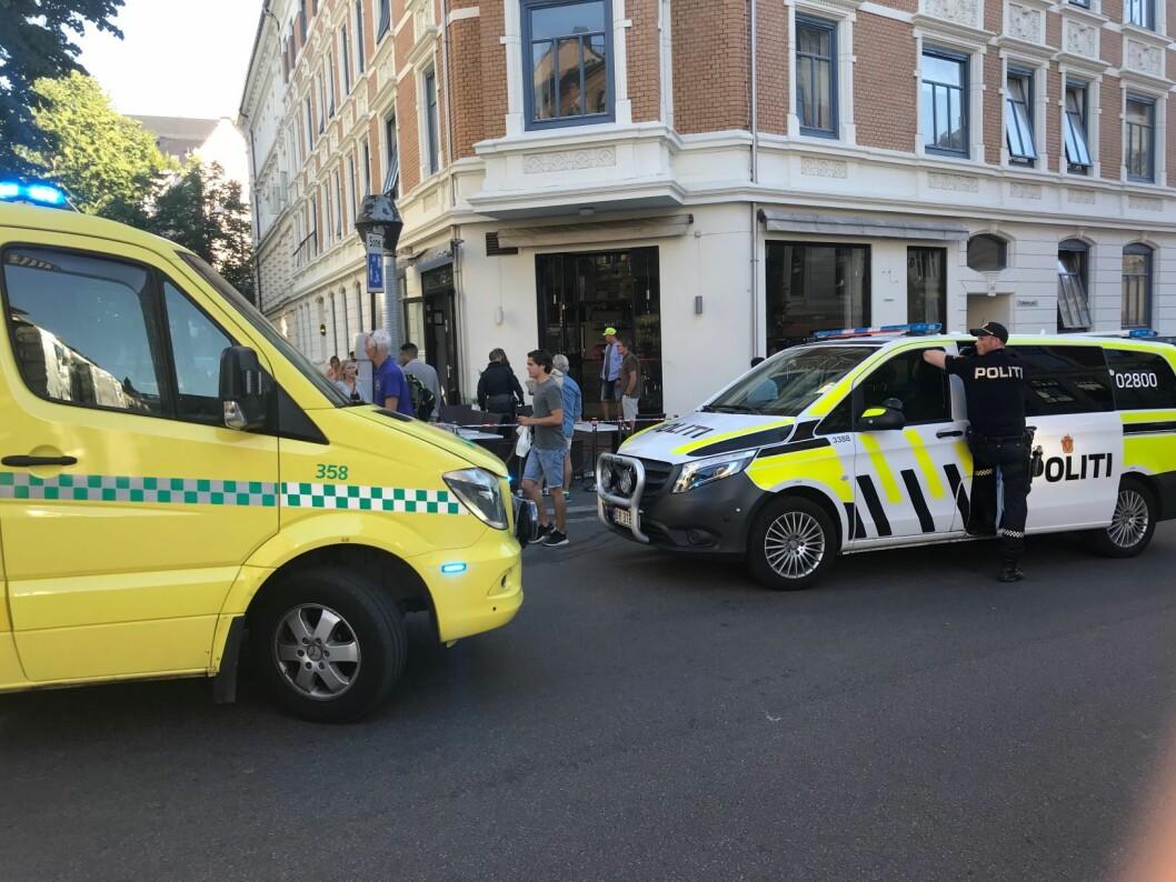 Aktor ønsker 16 års fengsel for mannen som knivstakk og drepte en kvinne på en kafé på Frogner i Oslo i juli 2018. Foto: Lars Eide / NTB scanpix