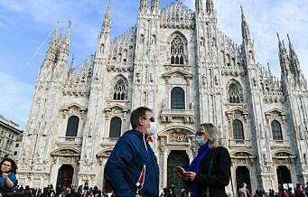Oslo-par sitter i korona-karantene på Nordstrand. Ferierte i Milano