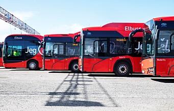 Millionstøtte kan gi 100 nye elektriske busser i Oslo