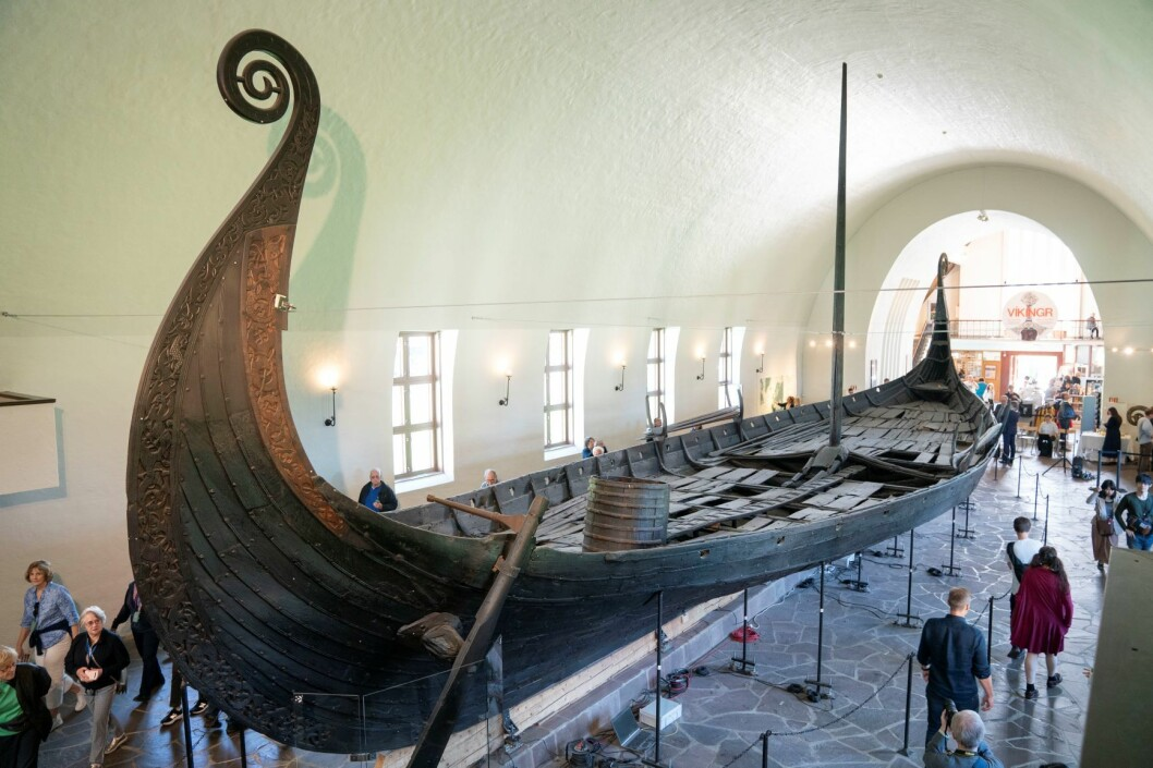 Det nye museet skal bli tre ganger så stort når Vikingskipshuset får et stort påbygg. Foto: Håkon Mosvold Larsen / NTB scanpix