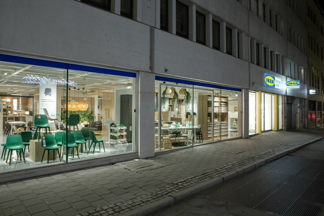 IKEAs åpner en ny konseptbutikk i Akersgata, rett ved Karl Johan. Foto: IKEA