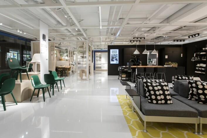 Her kan du planlegge ditt nye kjøkken, bad eller soverom. Foto: IKEA