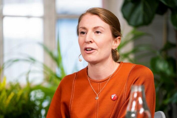 –I valgkampen i fjor hadde dobbelt så mange frivillige aktivister enn for fire år siden, sier Sunniva Holmås Eidsvold (SV). Foto: Håkon Mosvold Larsen / NTB scanpix