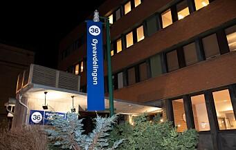 Øyeavdelingen på Ullevål sykehus snart i normal drift