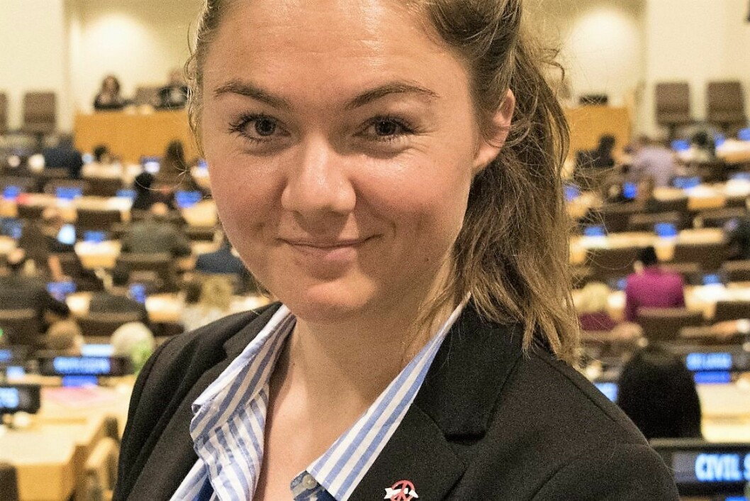 Sigrid Z. Heiberg (31) tar over som leder av Oslo MDG. Som leder vil hun blant annet kjempe mot E18-planene. Foto: ICAN